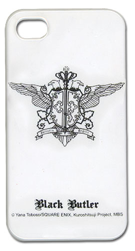 Black Butler Phantomhive Emblem Iphone Case, an officially licensed Black Butler Cell Phone Accessory