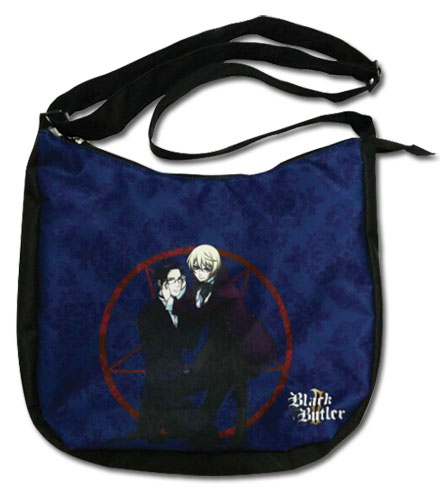 Black Butler 2 - Claude & Alois Messenger Bag, an officially licensed product in our Black Butler Bags department.