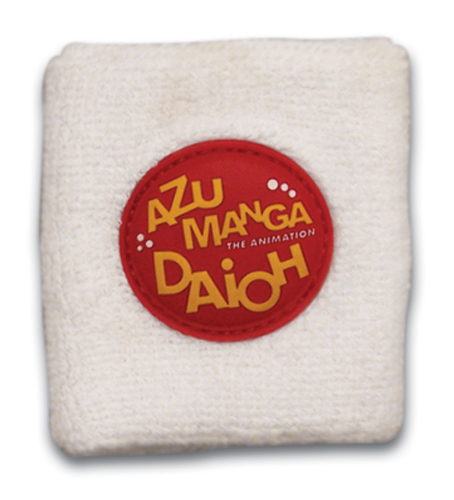 Azumanga Daioh Logo Wristband, an officially licensed Azumanga Wristband