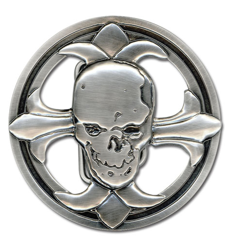 Death Note Skull Belt Buckle, an officially licensed product in our Death Note Belts & Buckles department.