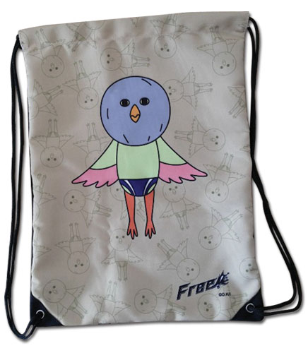 Free! - Iwatobi Chan Drawstring Bag, an officially licensed product in our Free! Bags department.
