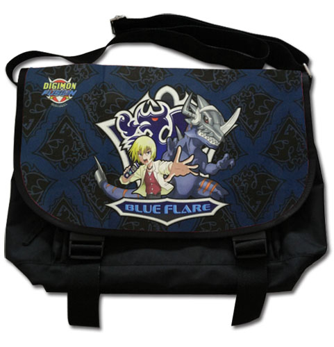 Digimon - Blue Flare Messenger Bag officially licensed product at B.A. Toys.