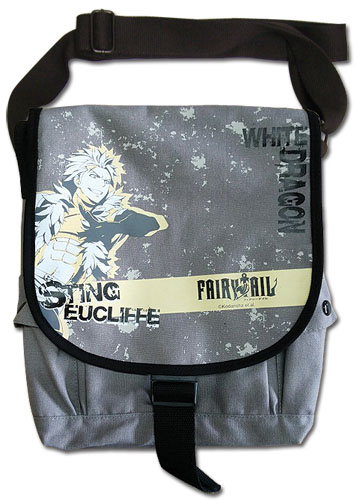 Fairy Tail - Sting Messenger Bag, an officially licensed product in our Fairy Tail Bags department.