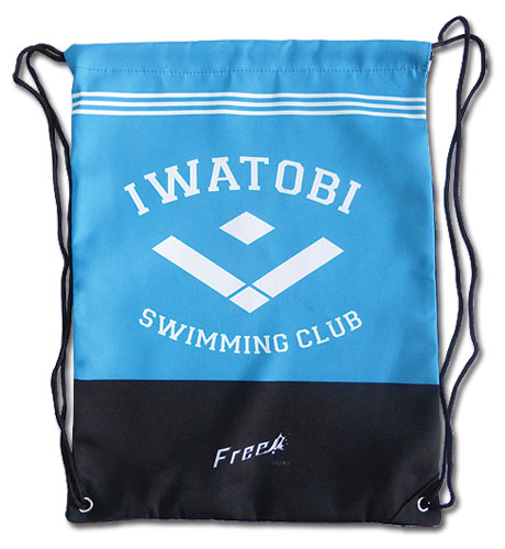 Free! - Iwatobi Sc Drawtsring Bag, an officially licensed product in our Free! Bags department.