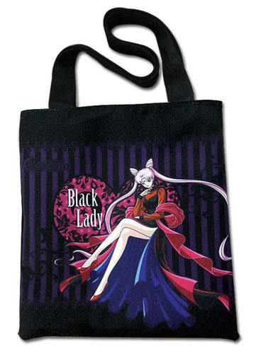 Sailor Moon - Black Lady Tote Bag, an officially licensed product in our Sailor Moon Bags department.