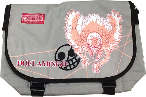 One Piece - Doflamingo Messenger Bag, an officially licensed product in our One Piece Bags department.