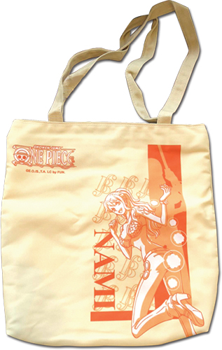 One Piece - Nami Tote Bag officially licensed One Piece Bags product at B.A. Toys.