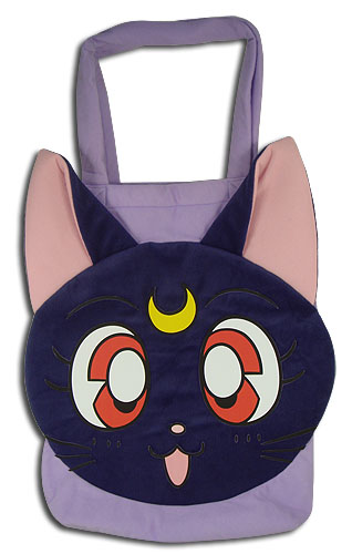 Sailor Moon R - Luna Plush Tote Bag, an officially licensed product in our Sailor Moon Bags department.