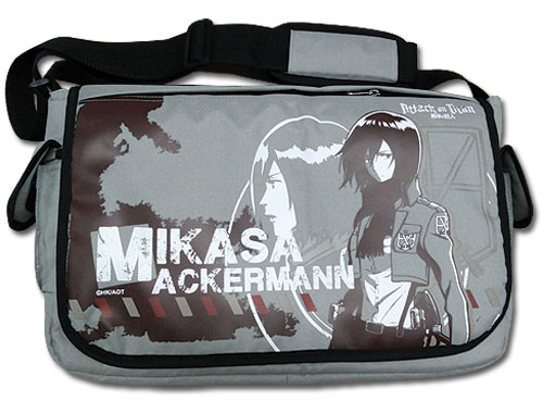 Attack On Titan - Mikasa Messenger Bag, an officially licensed product in our Attack On Titan Bags department.