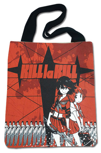 Kill La Kill - Ryuko & Mako Red Tote Bag, an officially licensed product in our Kill La Kill Bags department.
