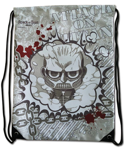 Attack On Titan - Sd Drawstring Bag, an officially licensed product in our Attack On Titan Bags department.