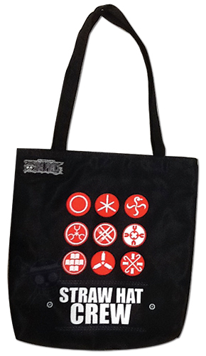 One Piece - Hanko Tote Bag, an officially licensed product in our One Piece Bags department.
