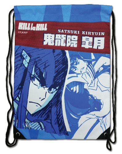 Kill La Kill - Satsuki Kiryuin Drawstring Bag, an officially licensed product in our Kill La Kill Bags department.