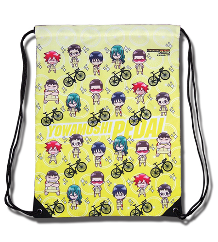 Yowamushi Pedal - Sohoku Group Sd Drawstring Bag, an officially licensed product in our Yowamushi Pedal Bags department.