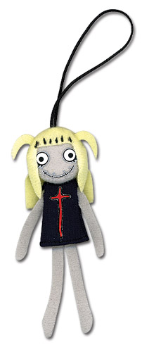 Death Note Misa Plush Cell Phone Charm, an officially licensed Death Note Cell Phone Accessory
