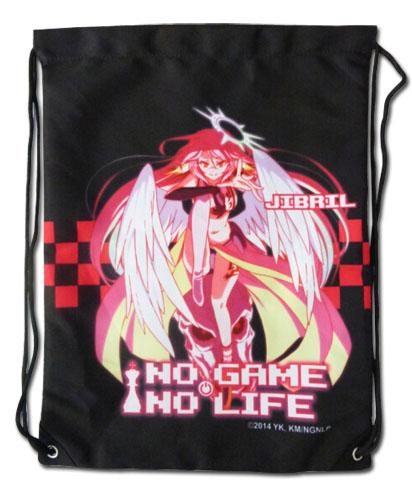 No Game No Life - Jibril Drawstring Bag officially licensed No Game No Life Bags product at B.A. Toys.