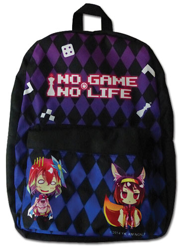 No Game No Life - Steph & Izuna Backpack, an officially licensed product in our No Game No Life Bags department.