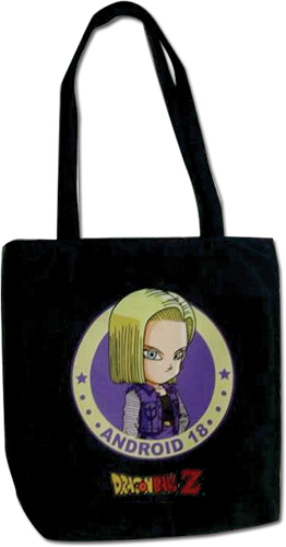 Dragon Ball Z - Android 18 Tote Bag officially licensed Dragon Ball Z Bags product at B.A. Toys.