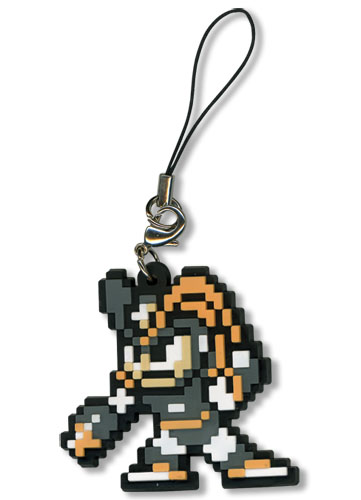 Megaman 10 Bass Pvc Cell Phone Charm, an officially licensed Mega Man Cell Phone Accessory