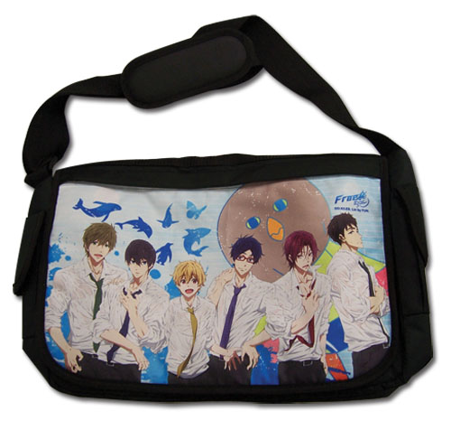 Free! 2 - Group & Iwatobi Mesenger Bag, an officially licensed product in our Free! Bags department.