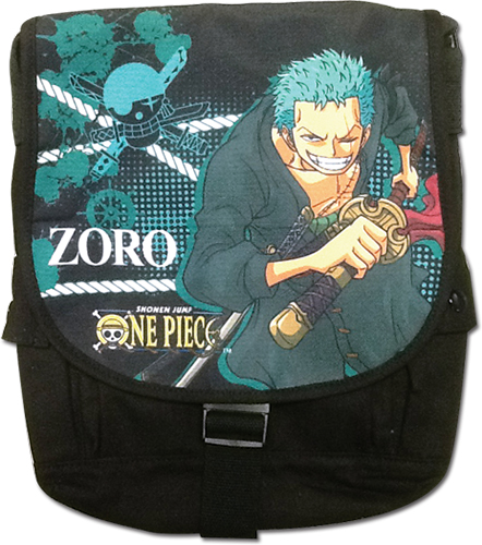 One Piece - Zoro Messenger Bag, an officially licensed product in our One Piece Bags department.