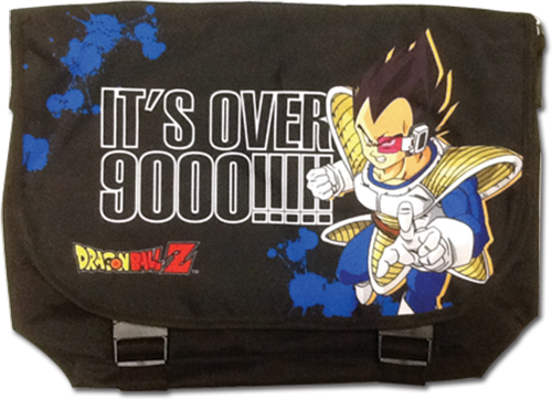 Dragon Ball Z - Vegeta Messenger Bag officially licensed Dragon Ball Z Bags product at B.A. Toys.