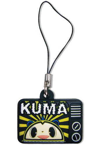 Persona 4 Kuma Pvc Cell Phone Charm, an officially licensed product in our Persona Costumes & Accessories department.