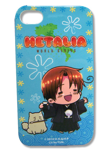 Hetalia World Series Italy And Pochi Iphone 4 Case, an officially licensed Hetalia Cell Phone Accessory