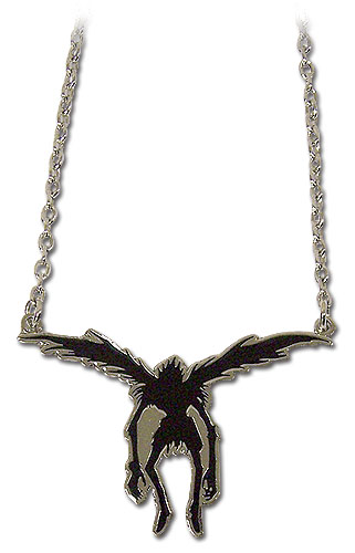 Death Note Ryuk Icon Necklace, an officially licensed product in our Death Note Jewelry department.