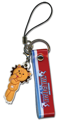 Bleach Kon Pvc Cell Phone Charm, an officially licensed Bleach product at B.A. Toys.