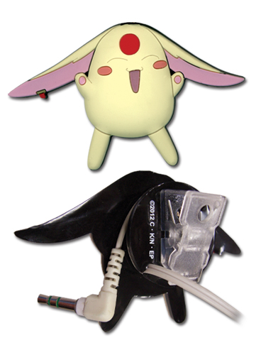 Tsubasa Mokona White Pvc Earphone Clip, an officially licensed product in our Tsubasa Costumes & Accessories department.