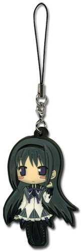 Madoka Magica Homura Pvc Cellphone Charm, an officially licensed product in our Madoka Magica Costumes & Accessories department.