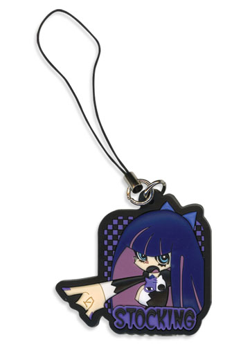 Panty & Stocking Stocking Pvc Cellphone Charm, an officially licensed product in our Panty & Stocking Costumes & Accessories department.