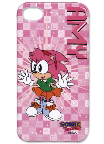 Classic Sonic Amy Iphone 4 Case, an officially licensed Sonic Cell Phone Accessory