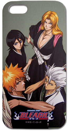 Bleach Group Iphone 4 Case, an officially licensed Bleach Cell Phone Accessory