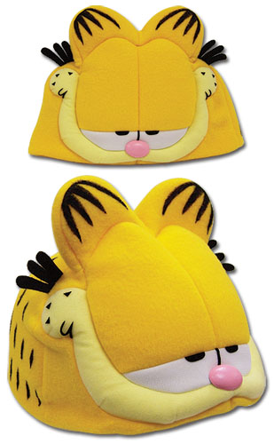 Garfield Fleece Cap officially licensed product at B.A. Toys.
