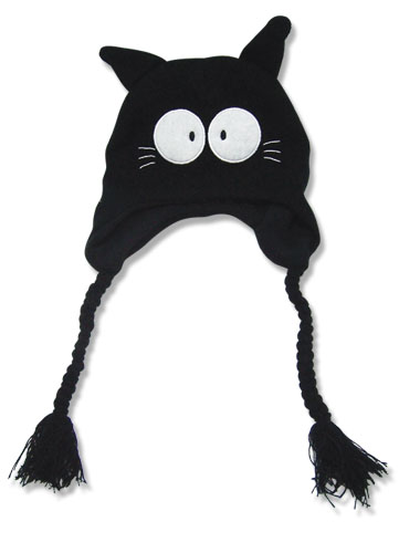 Flcl Takkun Black Cat Knitted Beanie, an officially licensed FLCL Cap