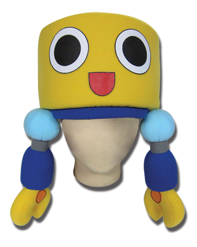 Mega Man Legends Servbot Plush Hat officially licensed product at B.A. Toys.