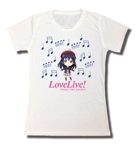 Love Live! - Umi Jrs. Sublimation T-Shirt L, an officially licensed product in our Love Live! T-Shirts department.