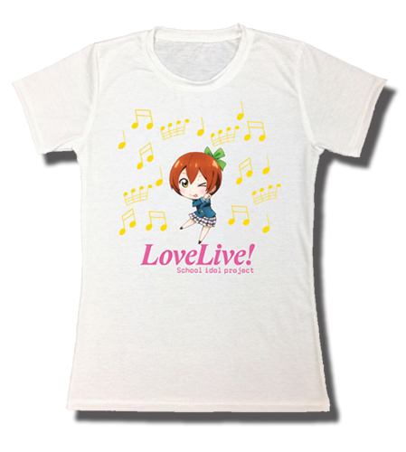 Love Live! - Kin Jrs. Sublimation T-Shirt L, an officially licensed product in our Love Live! T-Shirts department.