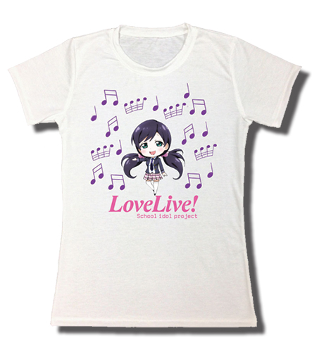 Love Live! - Nozomi Sublimation Jrs. T-Shirt L, an officially licensed product in our Love Live! T-Shirts department.
