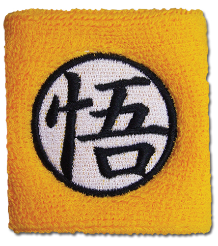 Dragon Ball Z Goku Symbol Wristband, an officially licensed Dragon Ball Z Wristband