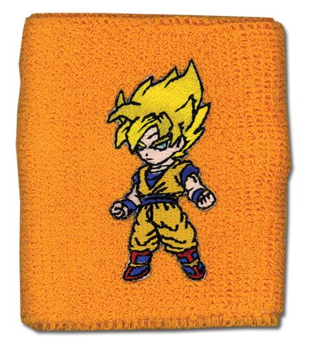 Dragon Ball Z Super Saiyan Goku Wristband, an officially licensed Dragon Ball Z Wristband