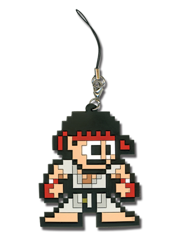 Super Street Fighter Iv 8Bit Ryu Cellphone Charm, an officially licensed product in our Super Street Fighter Costumes & Accessories department.