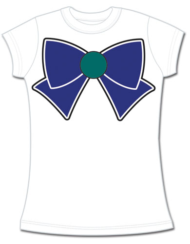 Sailor Moon - Sailor Neptune Bow Jrs. T-Shirt L, an officially licensed product in our Sailor Moon T-Shirts department.