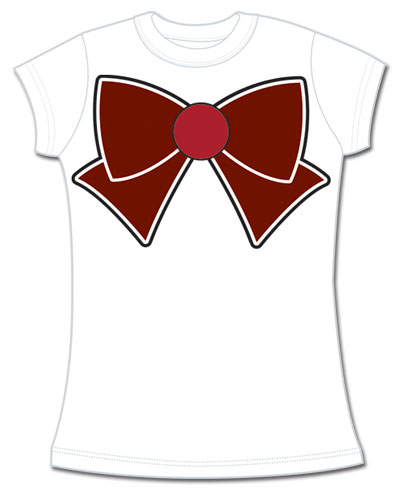 Sailor Moon - Sailor Pluto Bow Jrs. T-Shirt L, an officially licensed product in our Sailor Moon T-Shirts department.