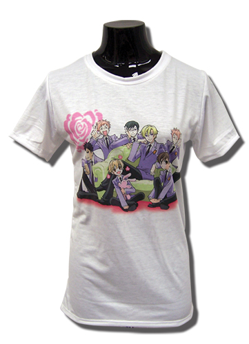 Ouran High School Host Club - Rose Group Jrs. T-Shirt L, an officially licensed product in our Ouran High School Host Club T-Shirts department.