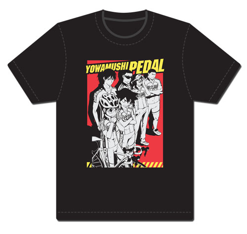 Yowamushi Pedal- Line Up T-Shirt L, an officially licensed product in our Yowamushi Pedal T-Shirts department.
