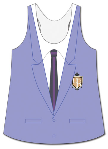 Ouran High School Host Club - Host Club Jacket Tank Top L, an officially licensed product in our Ouran High School Host Club T-Shirts department.
