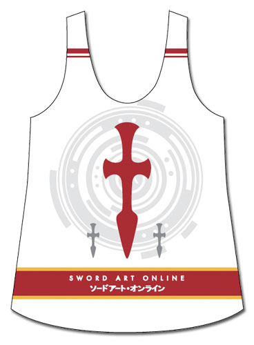 Sword Art Online - Asuna Cross Tank Top L officially licensed Sword Art Online T-Shirts product at B.A. Toys.